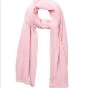 NEW Portolano Lightweight Cashmere Scarf Soft Pink